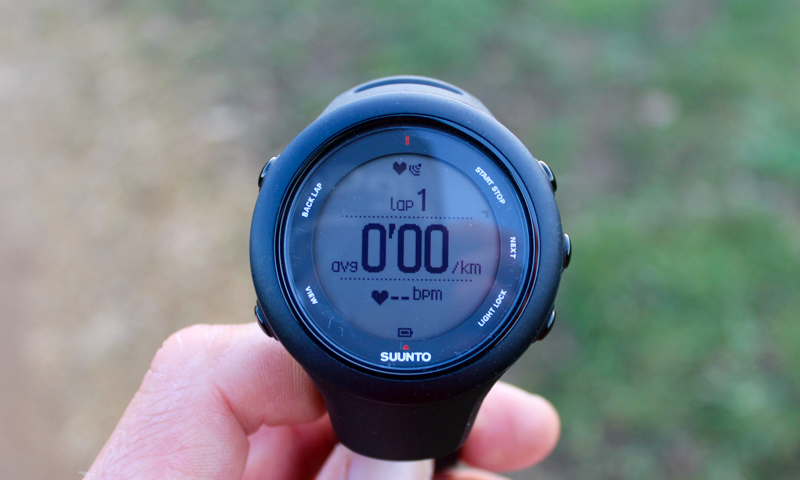 track laps and sports on suunto ambit 3 sports