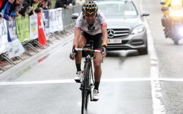 萩原選手、Gooik-Geraardsbergen-Gooik 入賞。2 日間で 2 度目の表彰台