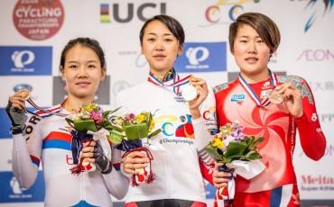 アジア選手権で、萩原麻由子選手がTTエリート女子で優勝!