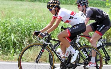 萩原麻由子、Giro Rosa ステージ 3 でのアタック